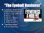 the eyeball business7