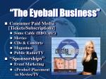 the eyeball business8
