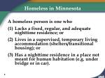 homeless in minnesota