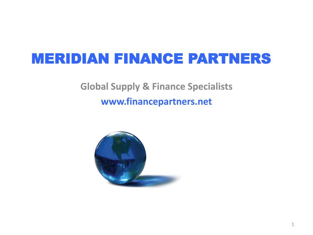meridian finance partners l.