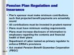 pension plan regulation and insurance15