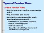 types of pension plans5