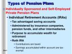 types of pension plans8