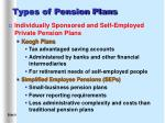 types of pension plans9