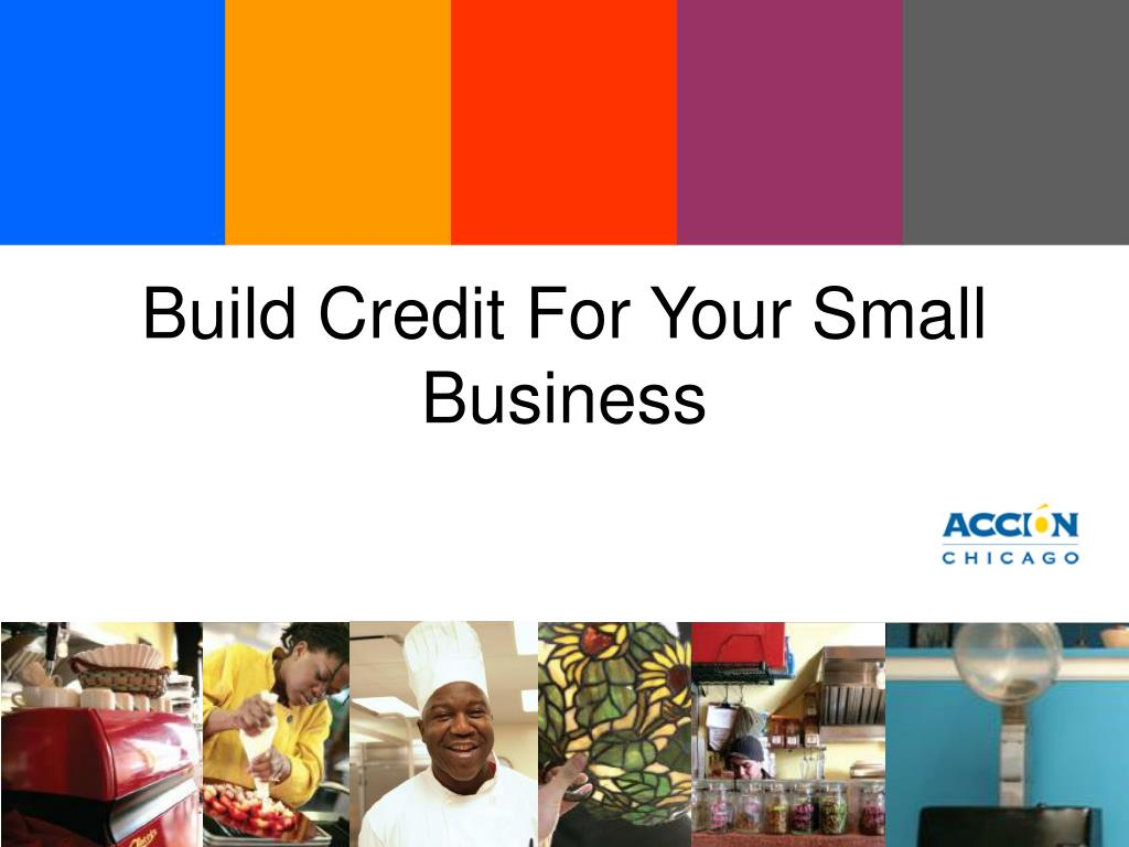 build credit for your small business l.