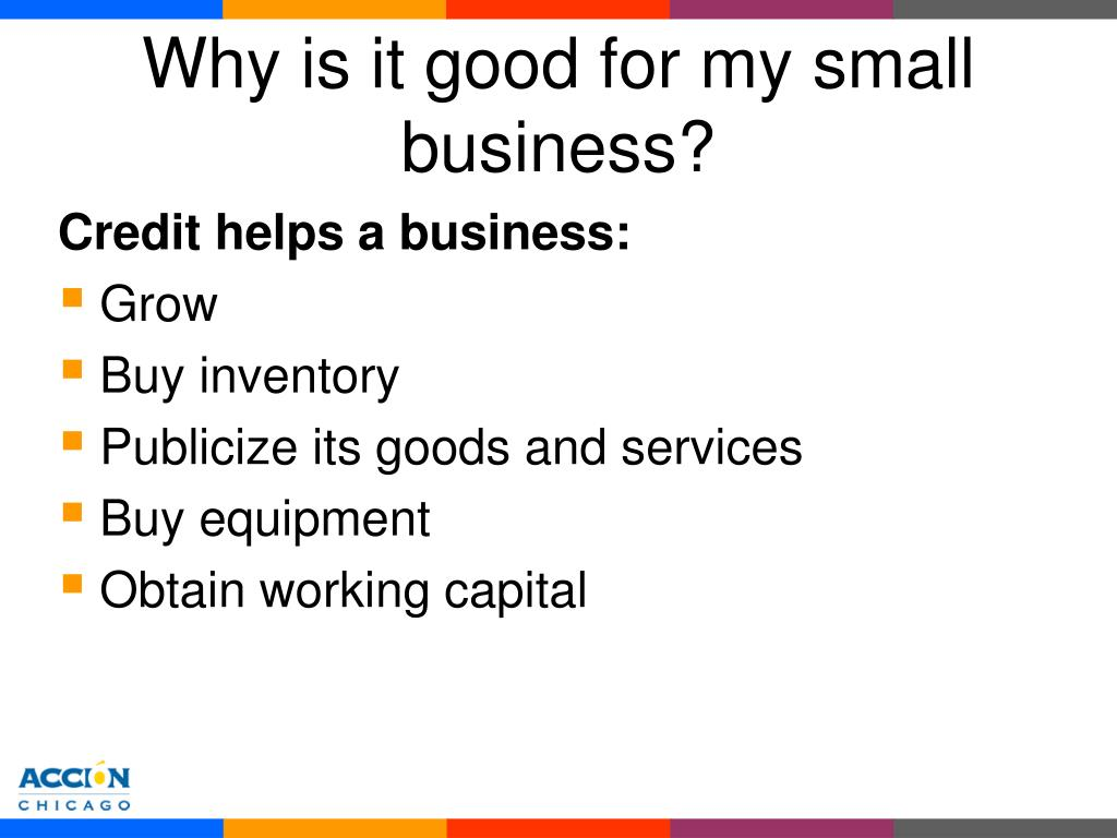 Why is it good for my small business?