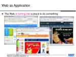 web as application4
