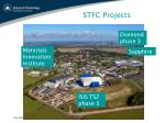 stfc projects