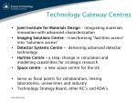 technology gateway centres