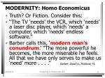 modernity homo economicus11