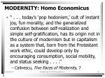 modernity homo economicus12