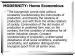 modernity homo economicus13