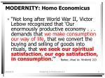 modernity homo economicus9