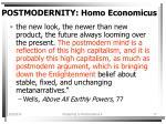 postmodernity homo economicus17
