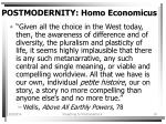 postmodernity homo economicus18