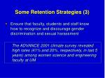 some retention strategies 3