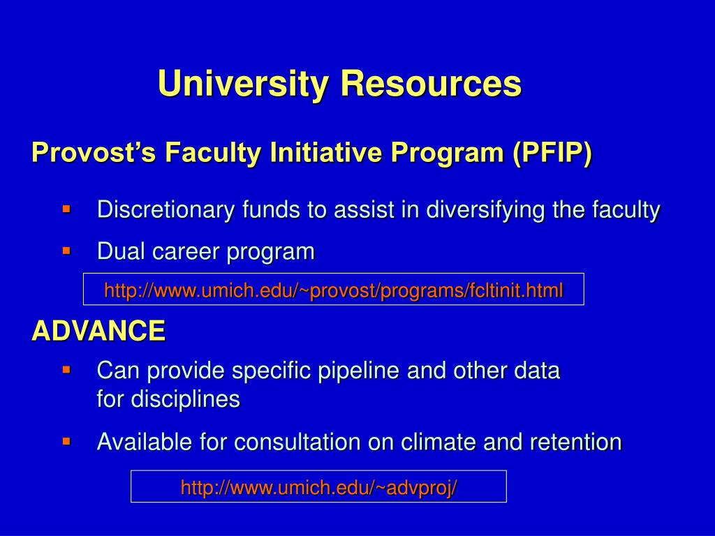 Provost's Faculty Initiative Program (PFIP)