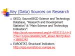 key data sources on research