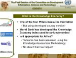 what is the knowledge economy