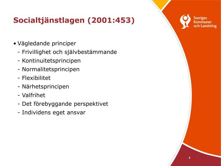 Socialtj nstlagen 2001 4533