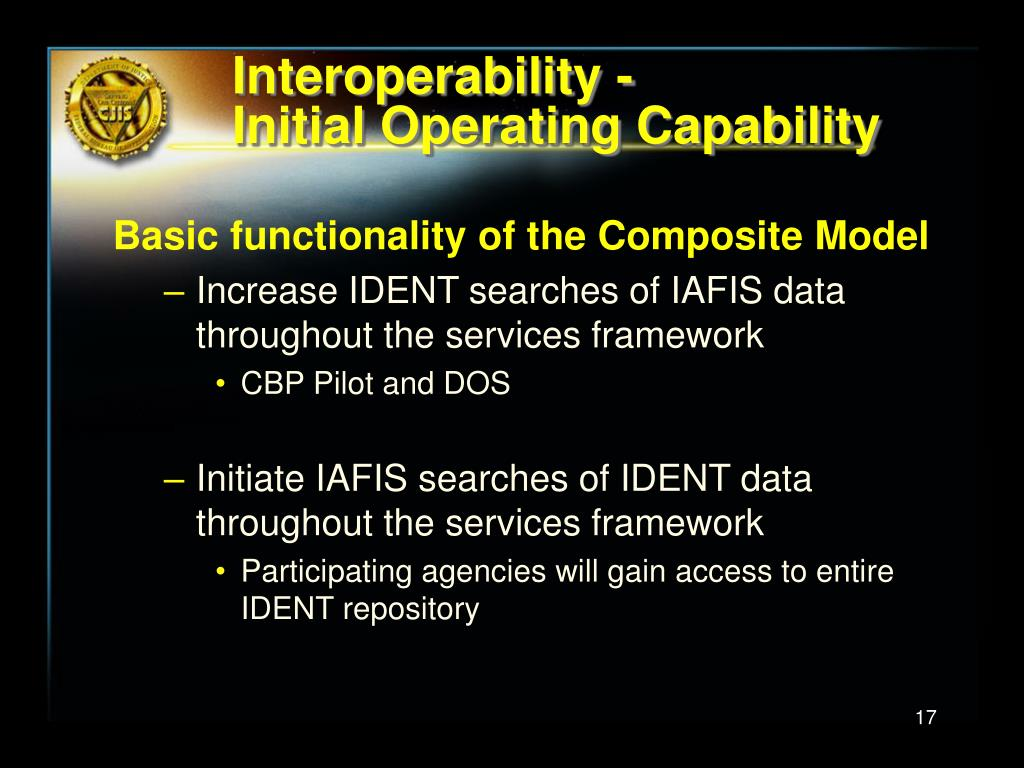 Interoperability -