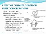 effect of chamfer design on insertion operations4