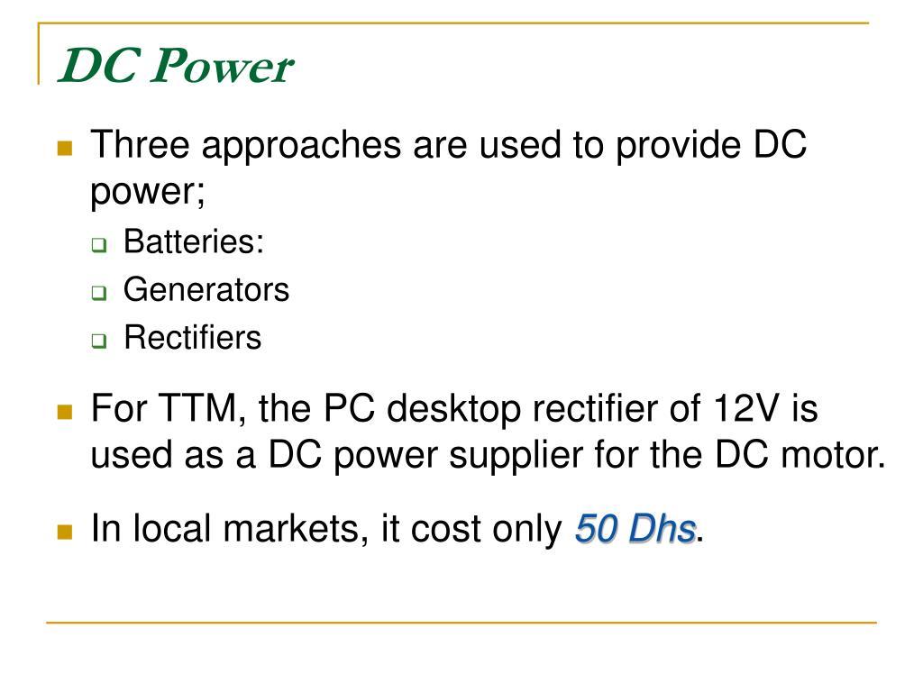 DC Power
