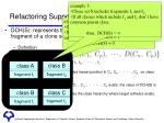 refactoring support system aries 4