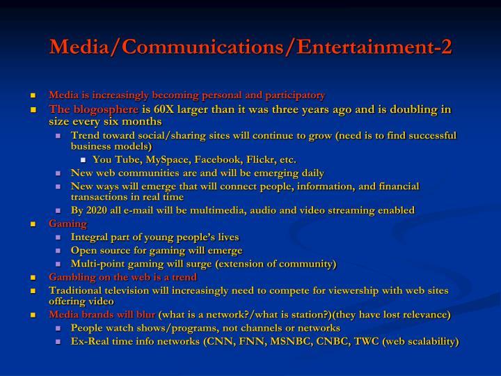 Media/Communications/Entertainment-2