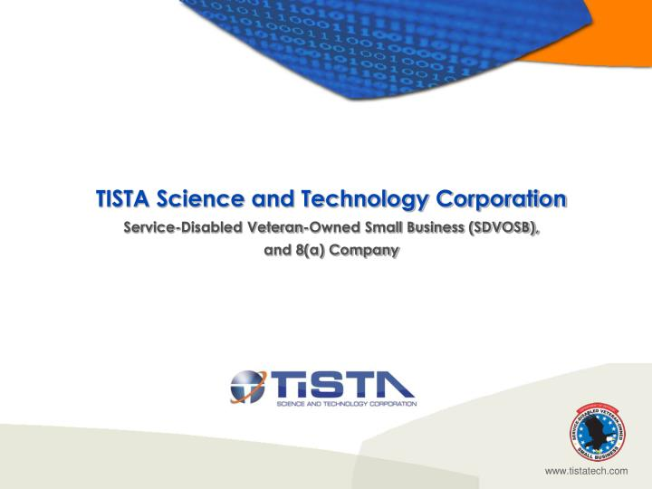 TISTA Science and Technology Corporation