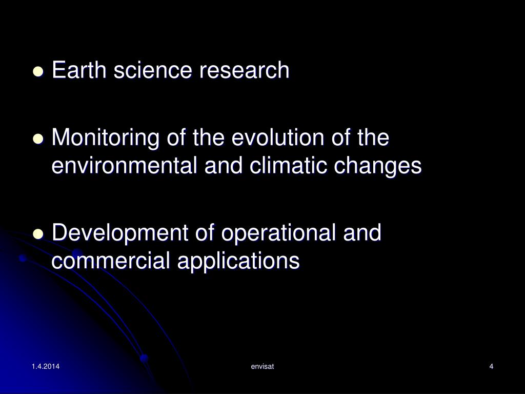 Earth science research