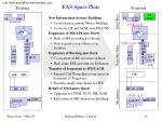 eas space plan