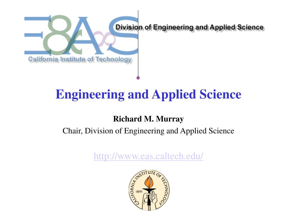 Engineering and Applied Science