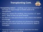 transplanting cont6
