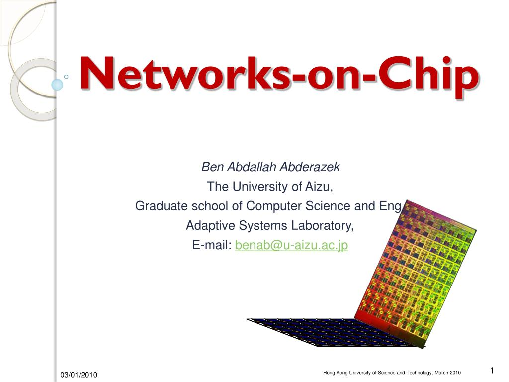 networks on chip l.