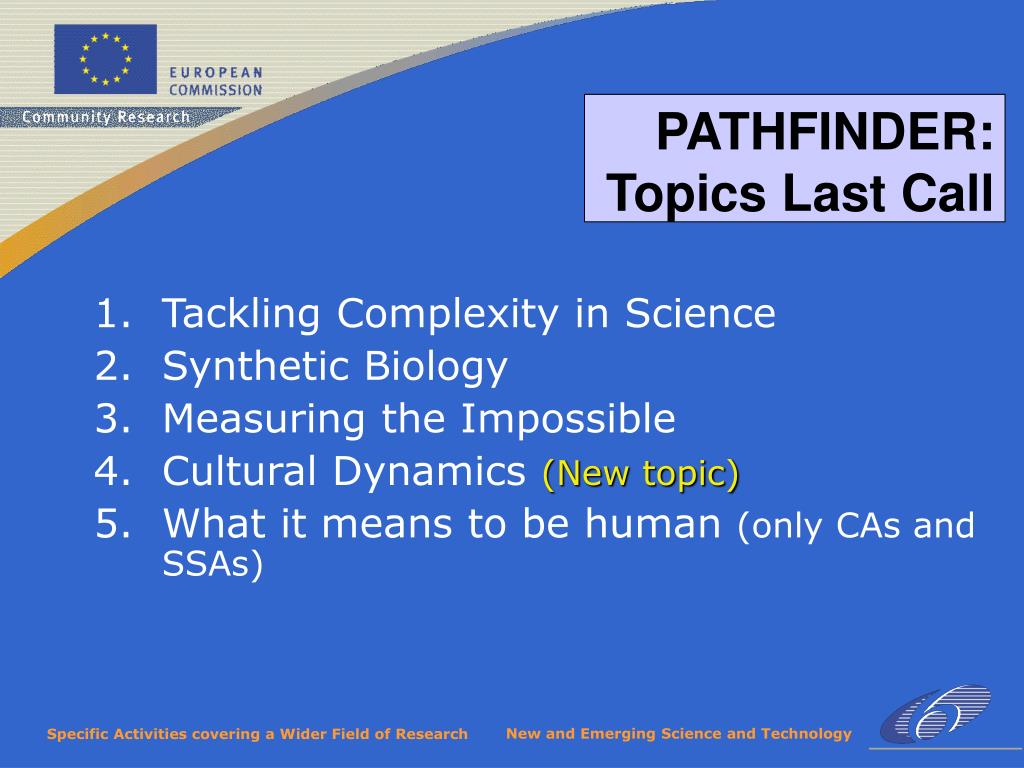 Tackling Complexity in Science