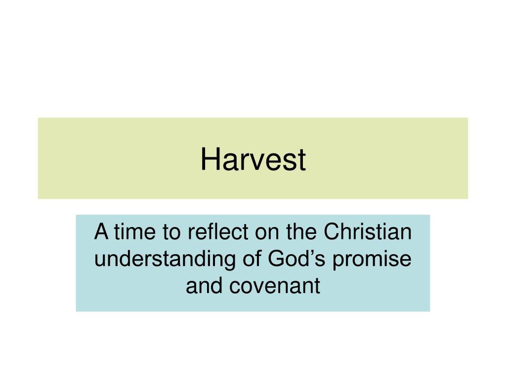 harvest l.