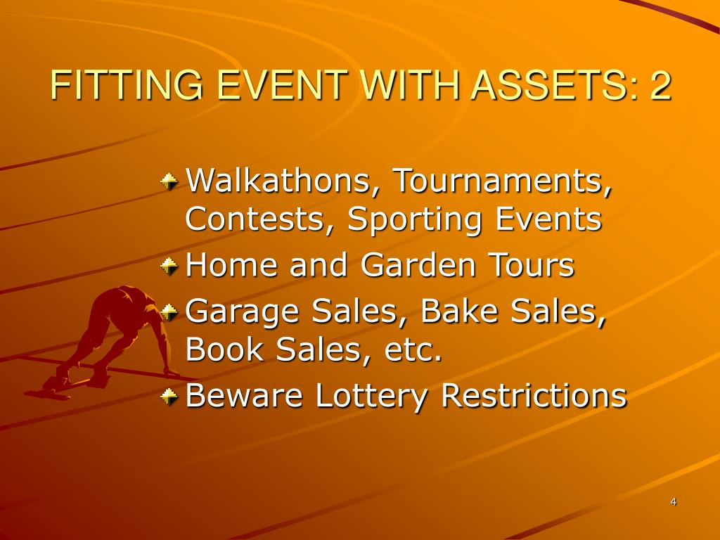 FITTING EVENT WITH ASSETS: 2