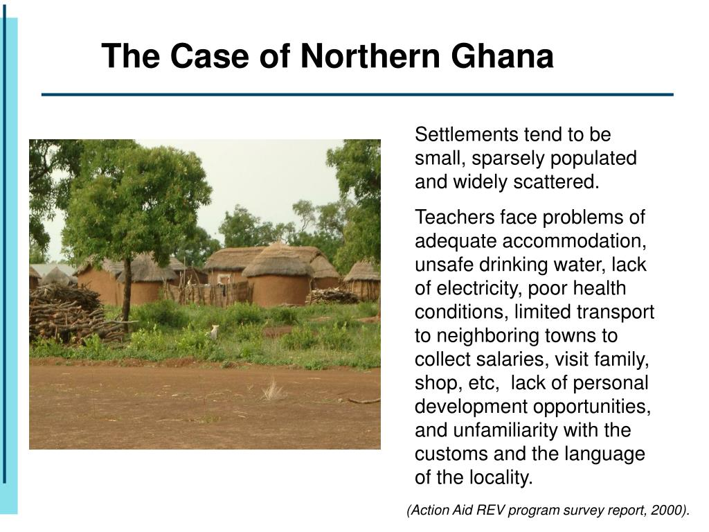 The Case of Northern Ghana