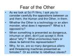 fear of the other15
