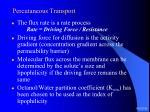 percutaneous transport15