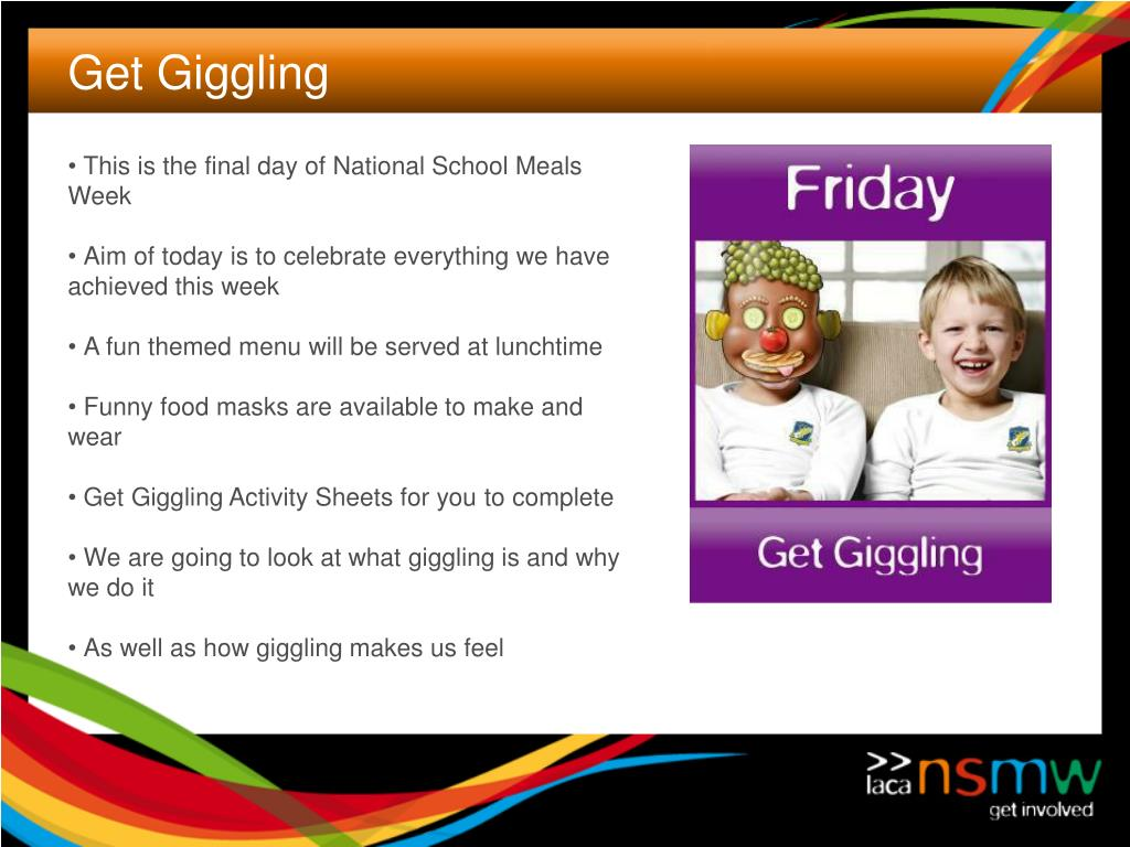 This is the final day of National School Meals Week