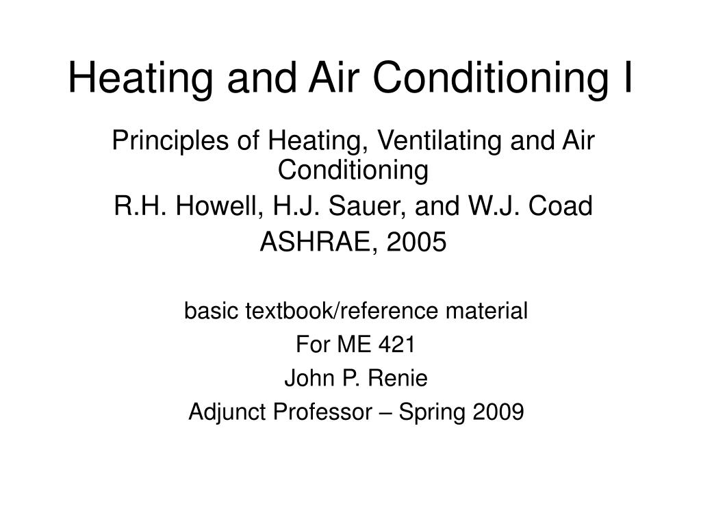heating and air conditioning i l.