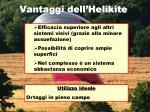 vantaggi dell helikite