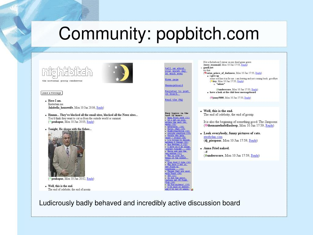 Community: popbitch.com