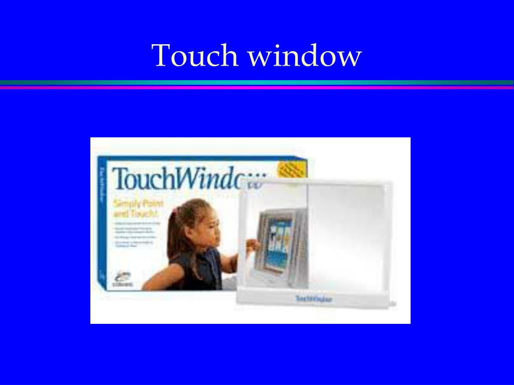Touch window