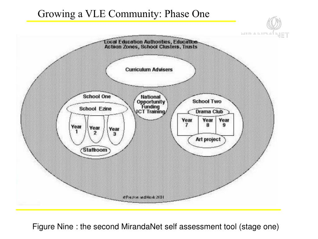Growing a VLE Community: Phase One