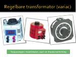 regelbare transformator variac10
