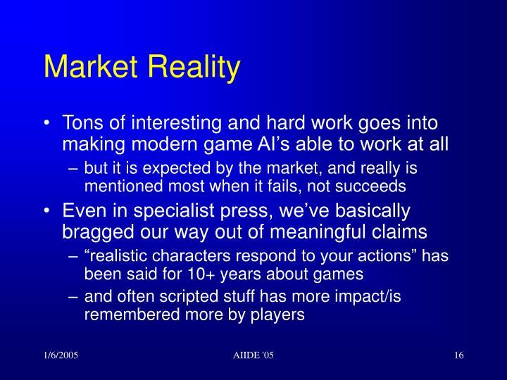 Market Reality