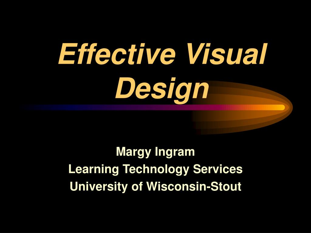 effective visual design l.